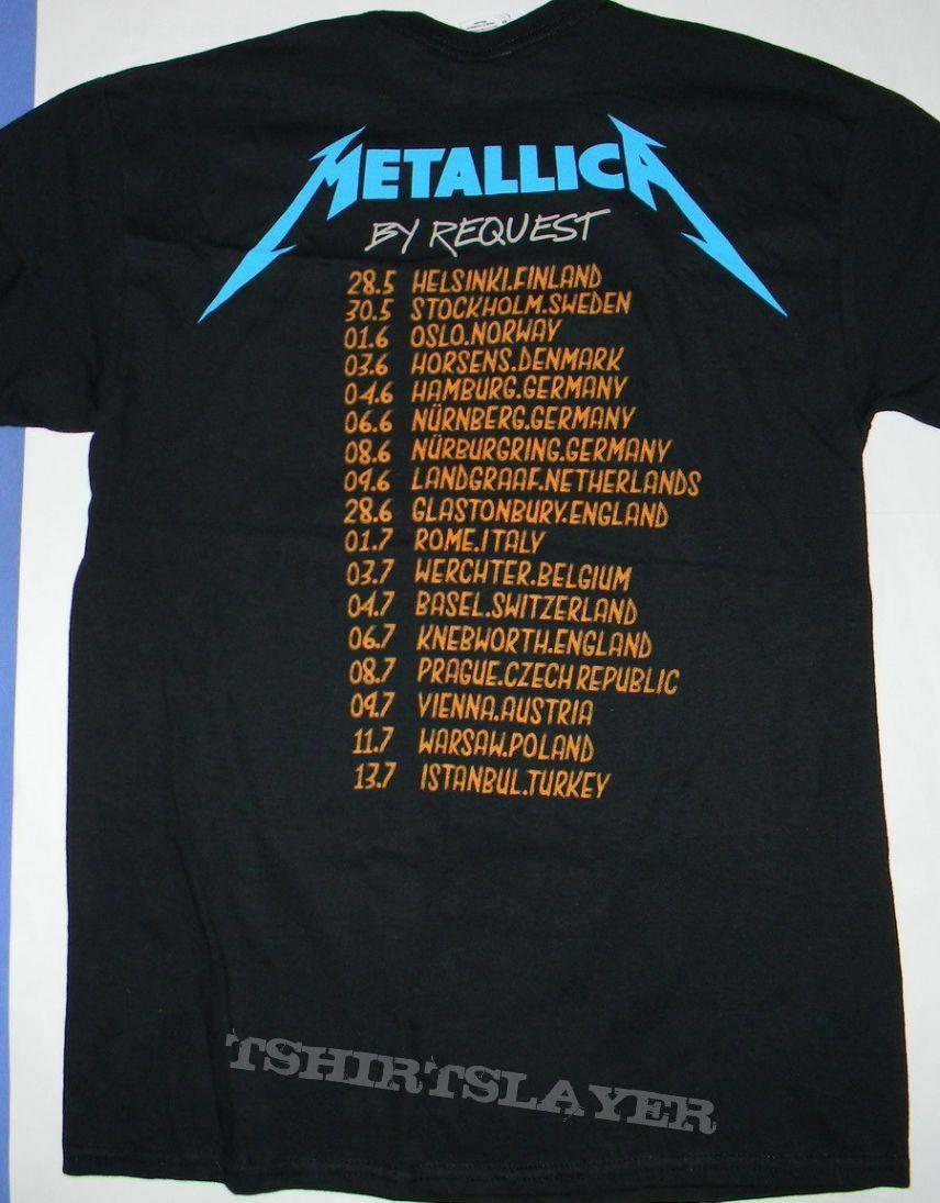 Metallica Tour T Shirt