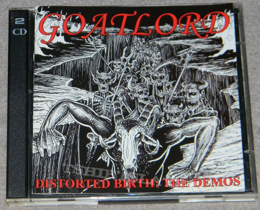 Goatlord - Distorted birth: The demos - CD