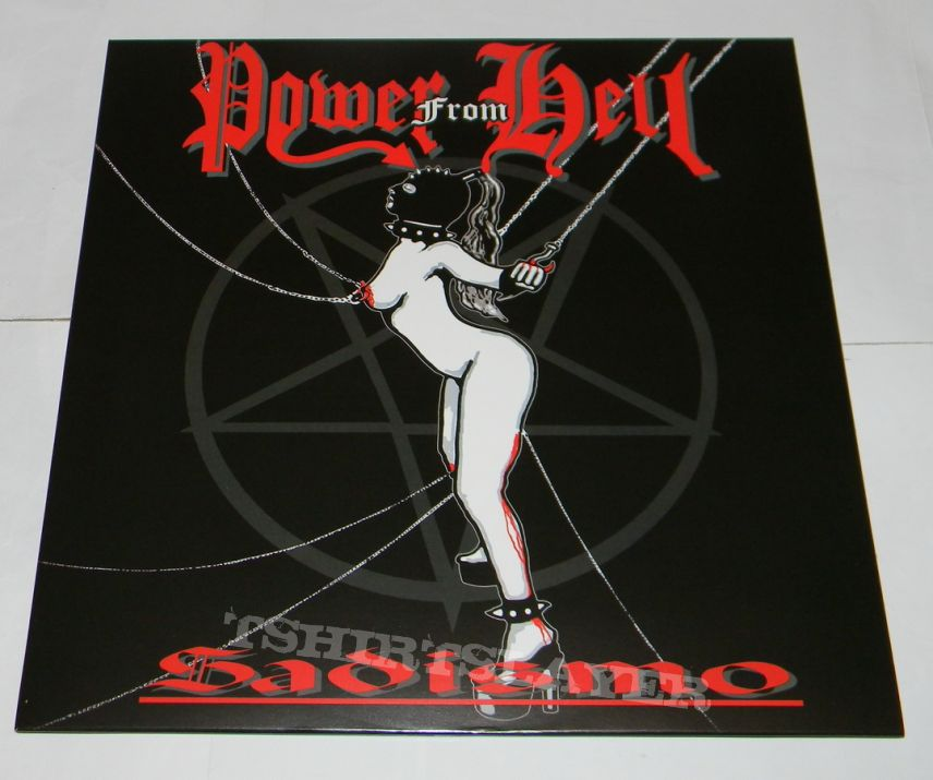 Power from Hell - Sadismo - Re-release LP