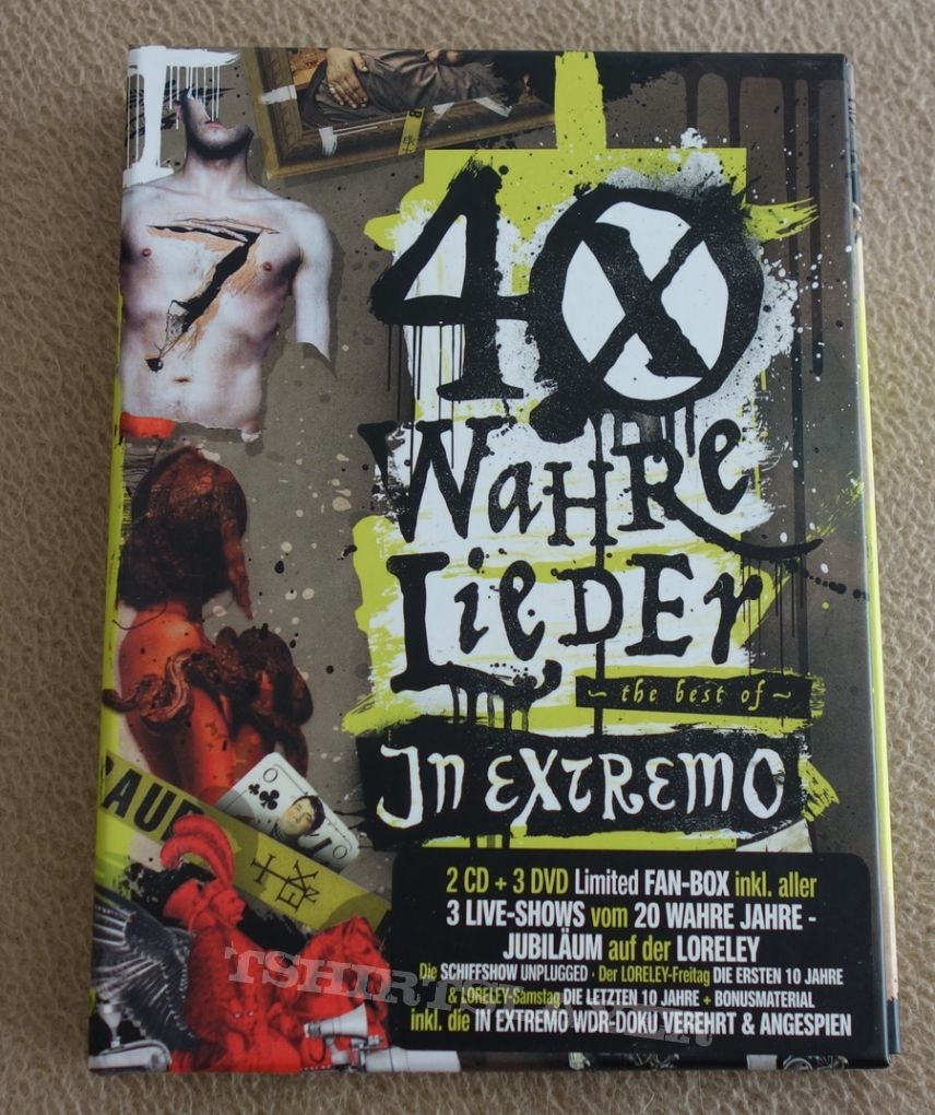 In Extremo - 40 wahre Lieder - The best of - Box