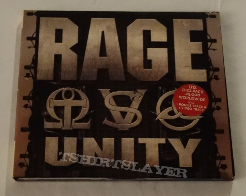 Rage - Unity - Digipack