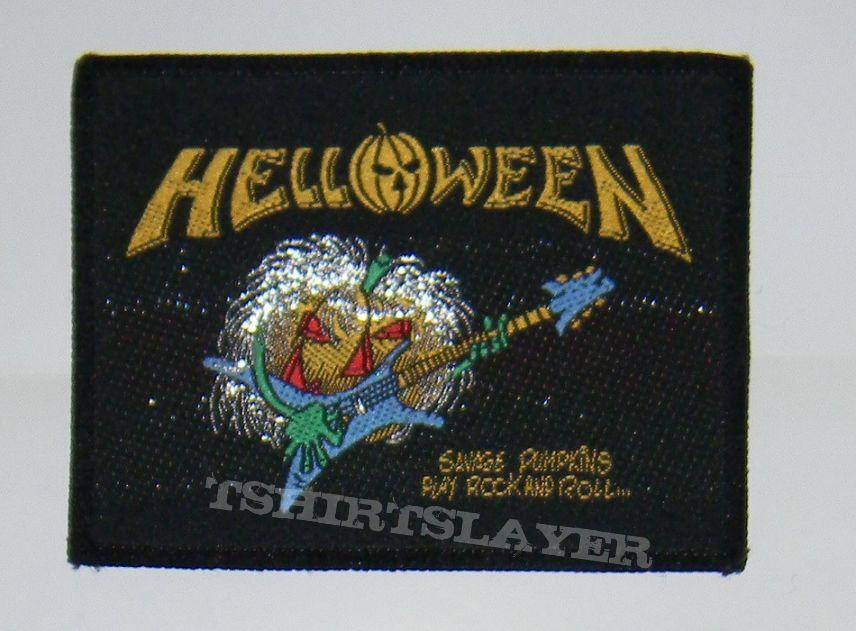 Helloween - Savage pumpkins - Woven Patch