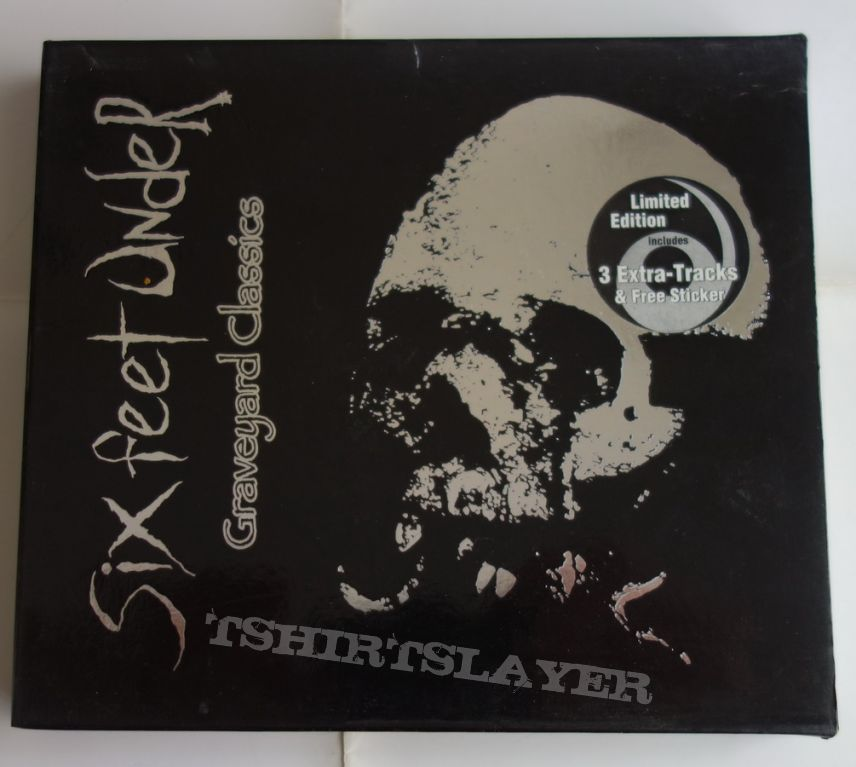 Six Feet Under - Graveyard classics - lim.edit.Slipcase CD