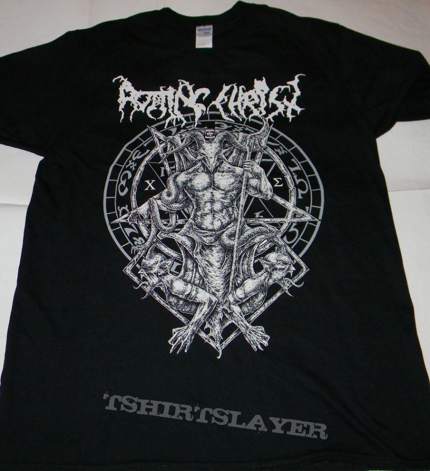 Kleidung & Accessoires Rotting Christ Hellenic Black Metal Legions T-shirt Musik