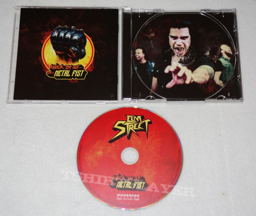 Elm Street - Kock em out...with a metal fist - CD