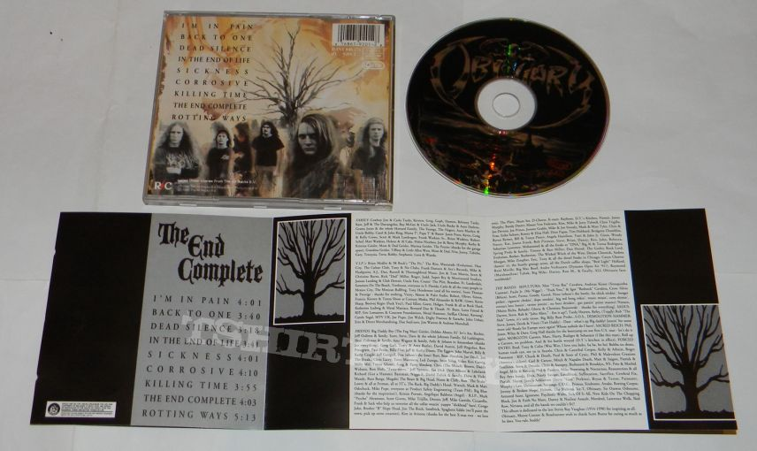Obituary - The end complete - orig.Firstpress CD
