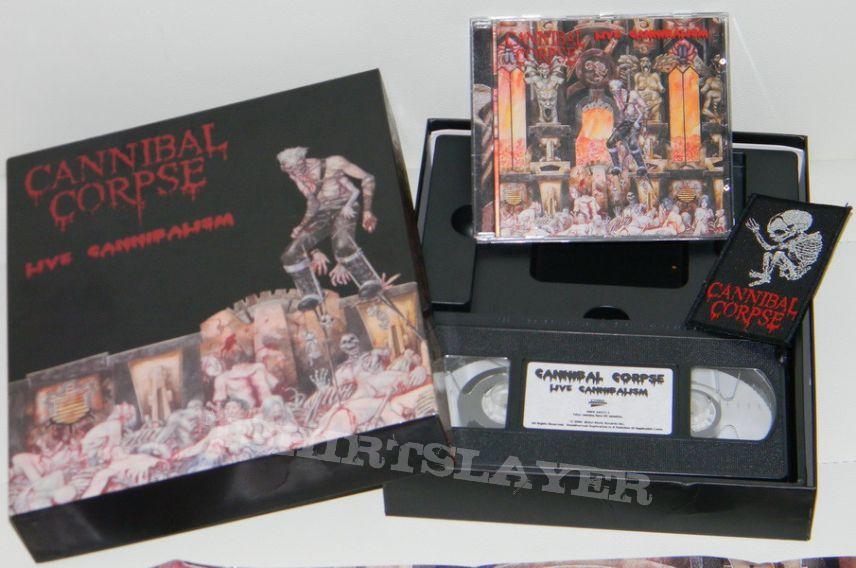 c02eceff69f Cannibal Corpse - Live Cannibalism Box Set