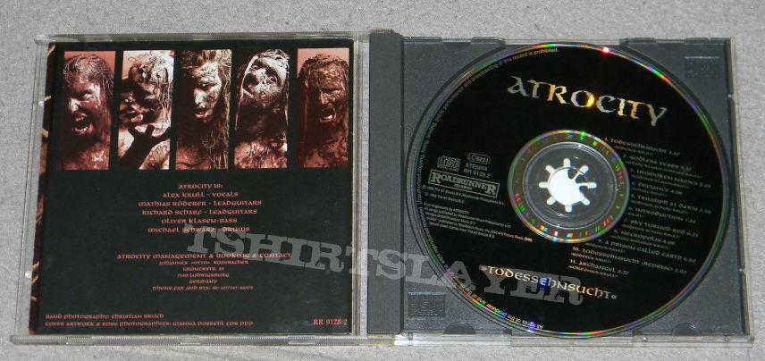 Atrocity - Todessehnsucht - orig.Firstpress - CD
