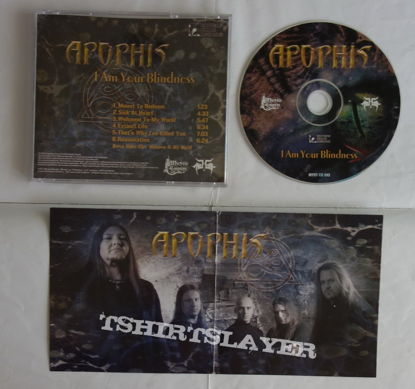 Apophis - I am your blindness - CD
