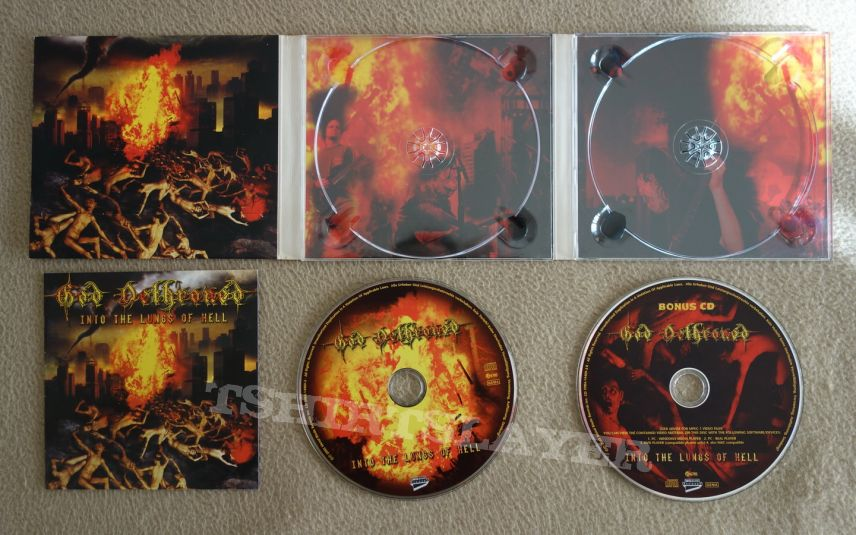 God Dethroned - Into the lungs of hell - lim.edit.Digipack