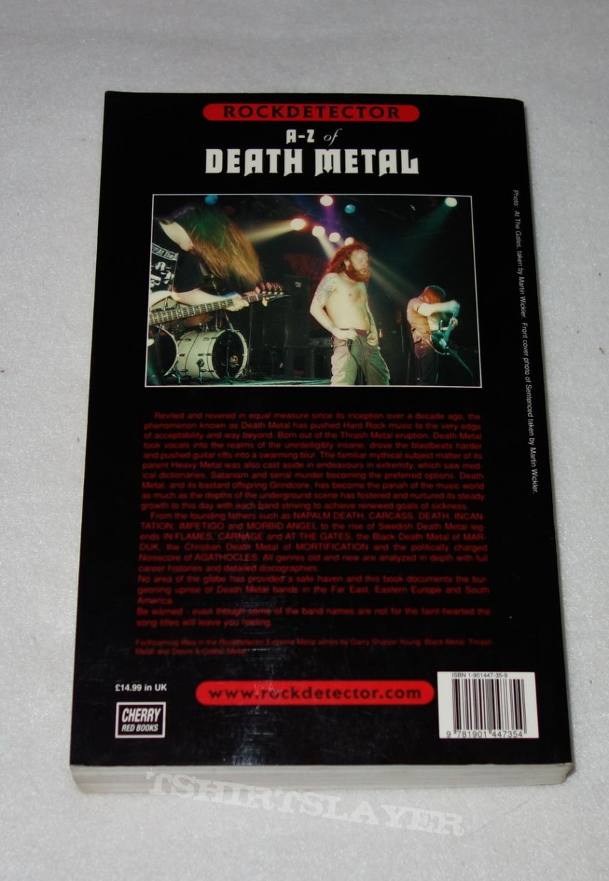 A-Z of Death Metal - Book