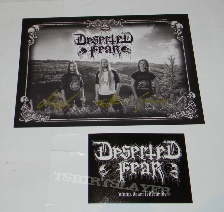 Deserted Fear - Signed Photocard