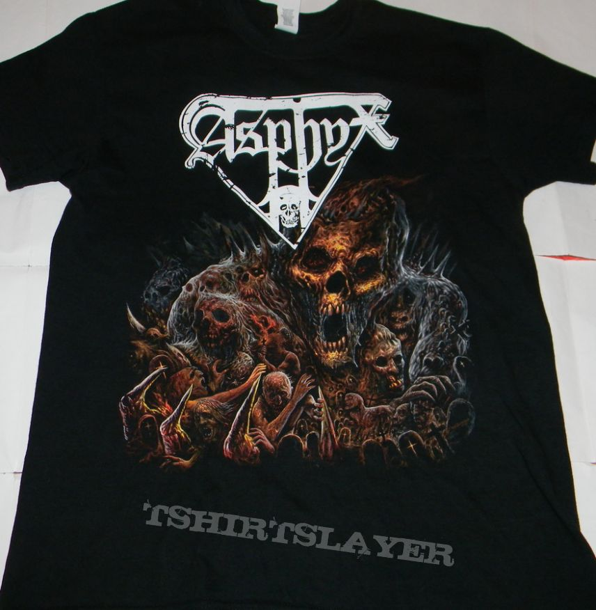 Asphyx - Incoming death over Europe - Tshirt