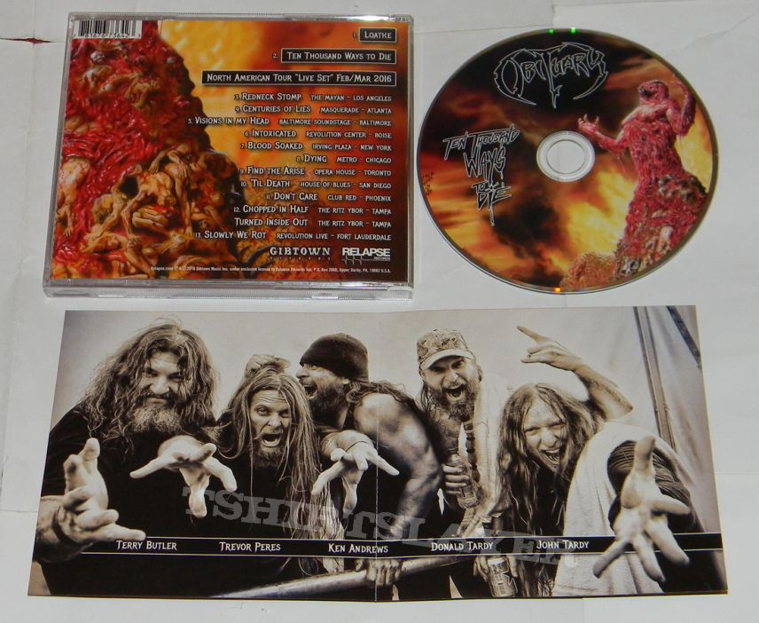 Obituary - Ten thousand ways to die - CD