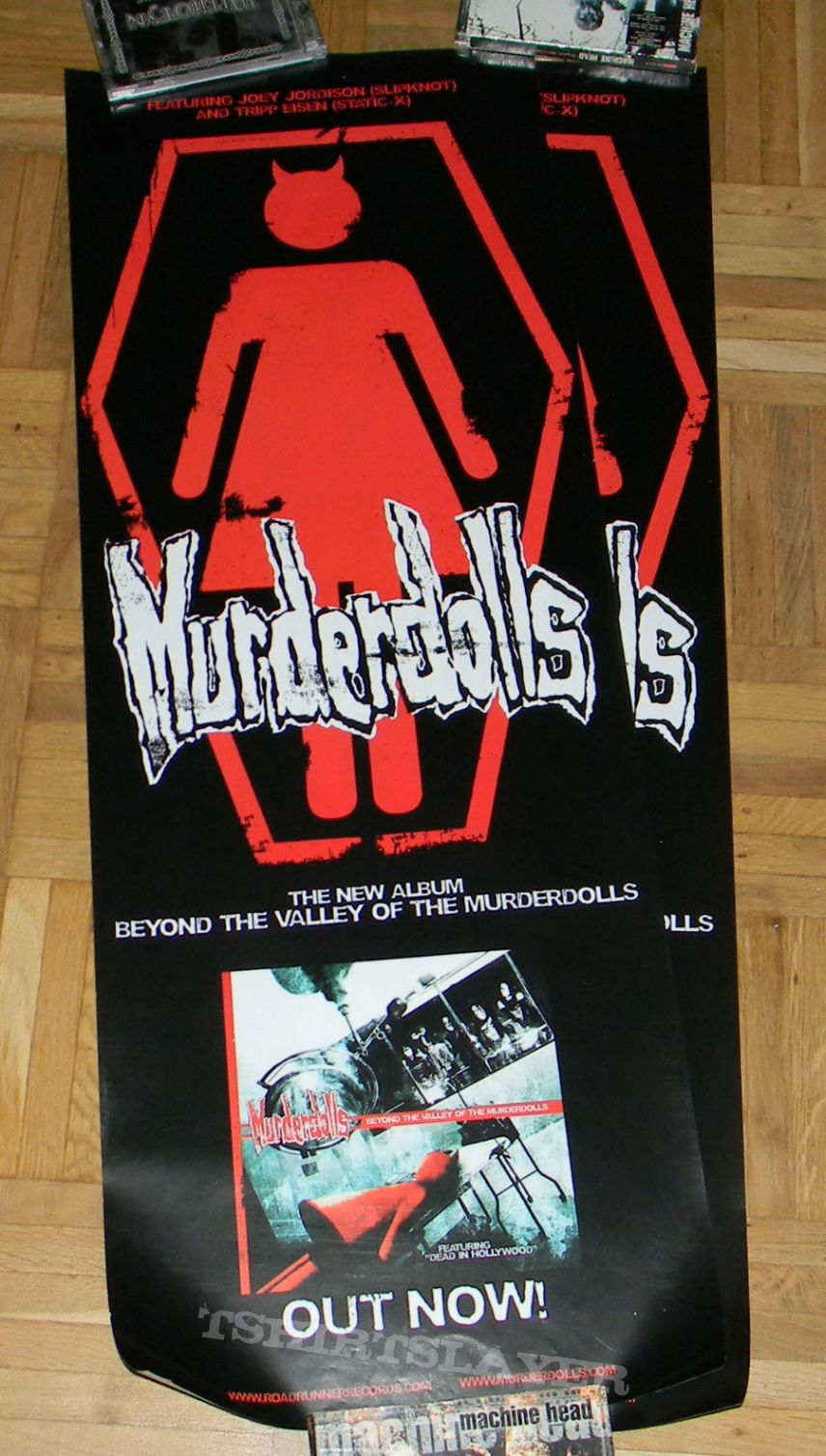 Murderdolls - Beyond the valley of the murderdolls - Promo poster