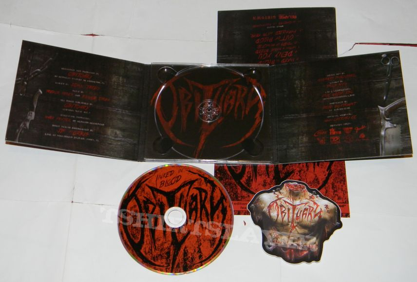 Obituary - Inked in blood - lim.edit.Digipack CD