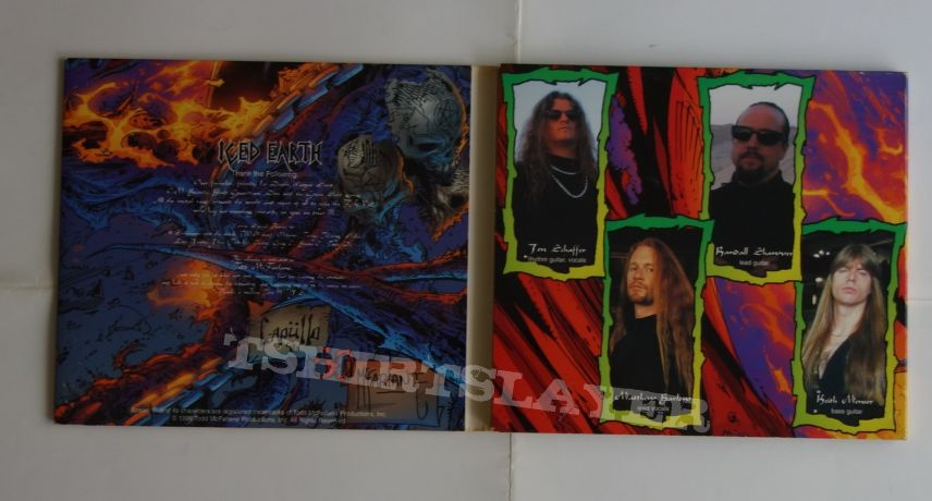 Iced Earth - The dark saga - lim.edit.Digipack CD