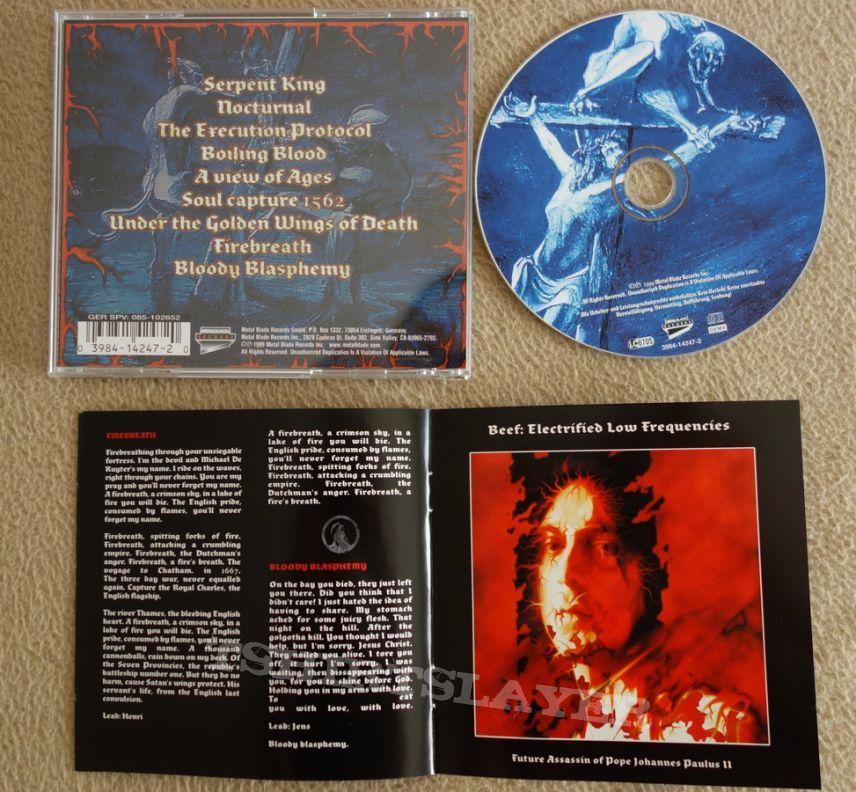 God Dethroned - Bloody blasphemy - CD