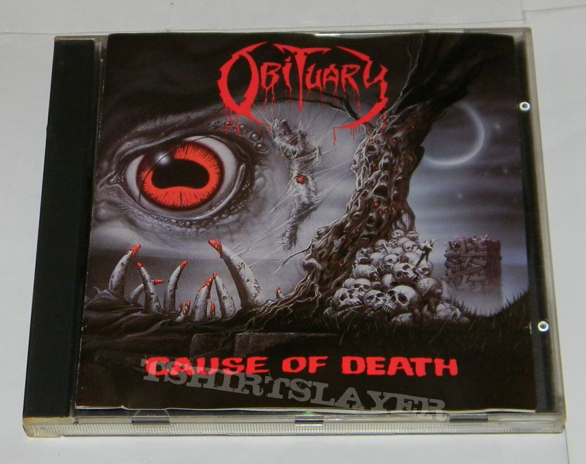 Obituary - Cause of death - orig.Firstpress CD