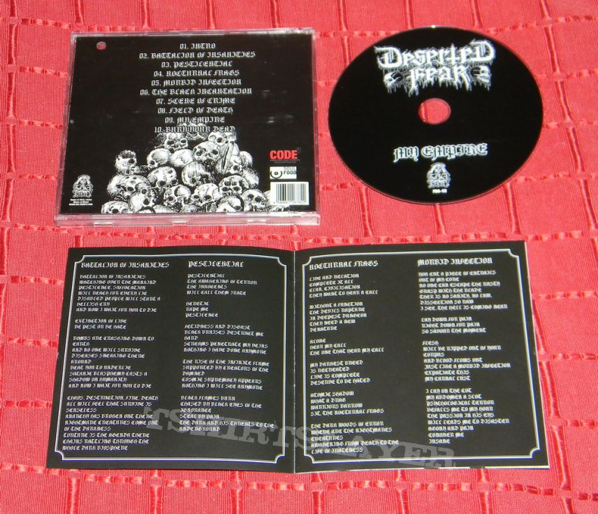 Deserted Fear - My empire - Promo CD