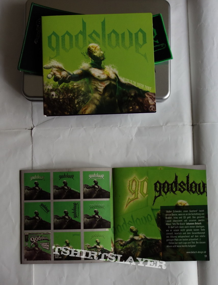 Godslave - Welcome to the green zone - Box Set