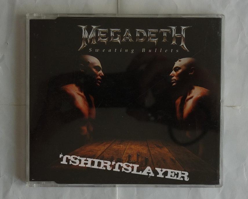 Megadeth - Sweating bullets - Single CD