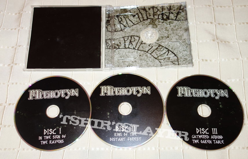 Mithotyn - Carved in stone - Re-release CD