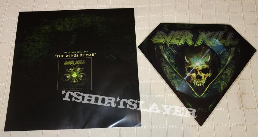 Overkill - Last man standing - Shape Vinyl