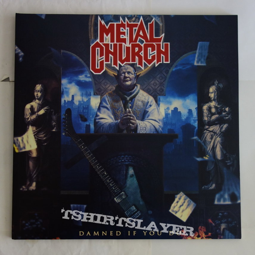 Metal Church - Damned if you do - LP