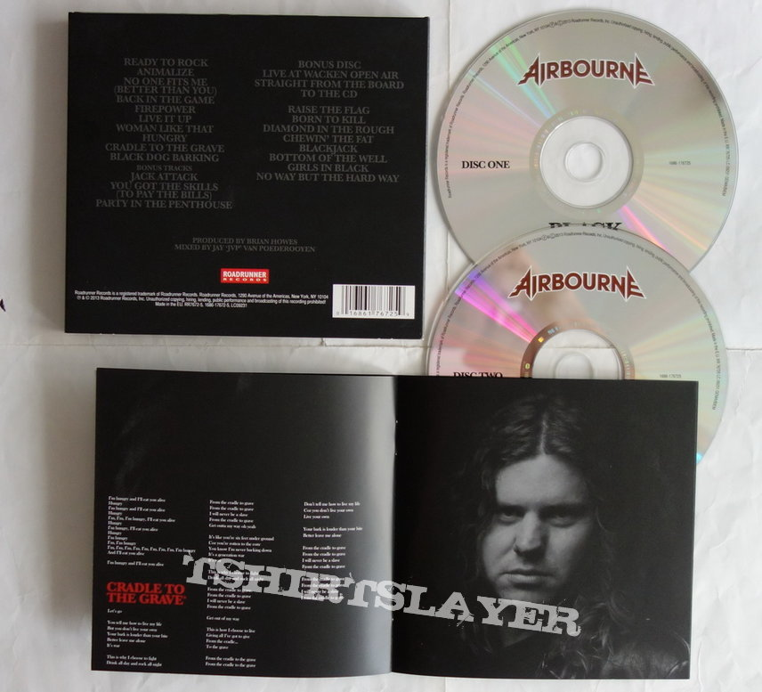 Airbourne - Black dog barking - lim.edit.Digipack CD