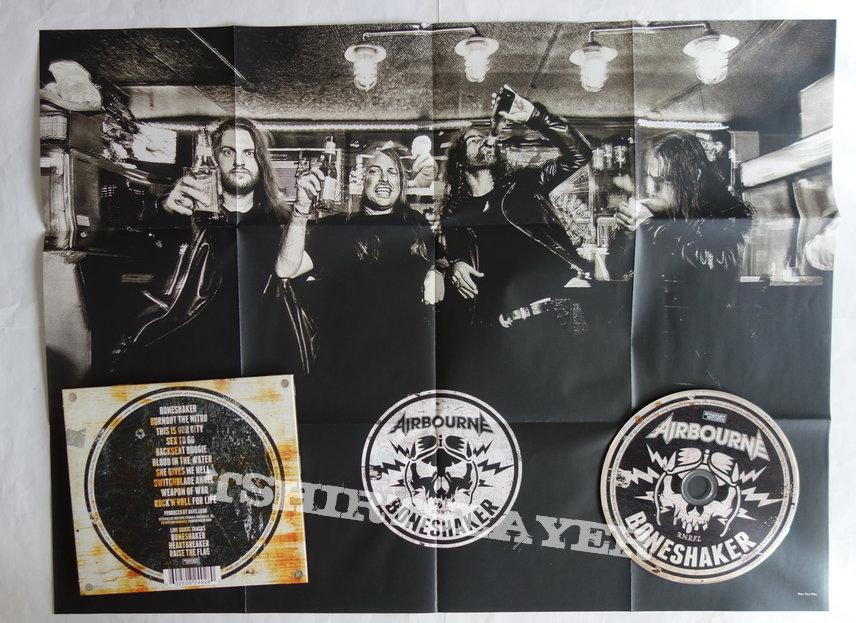 Airbourne - Boneshaker - lim.edit.Digipack CD