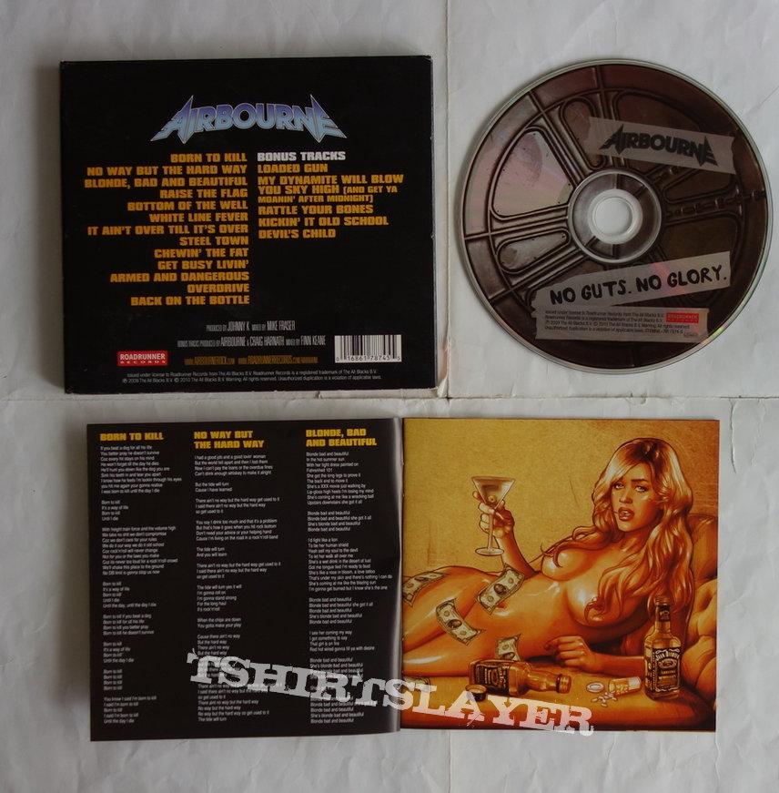 Airbourne - No guts, no glory - lim.edit.Digipack CD