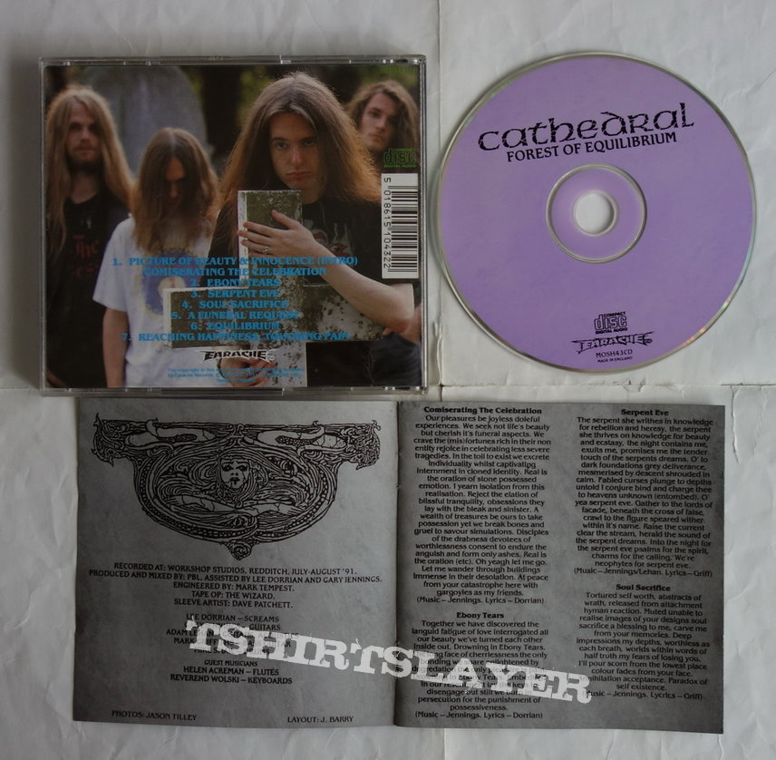 Cathedral - Forest of equilibrium - CD