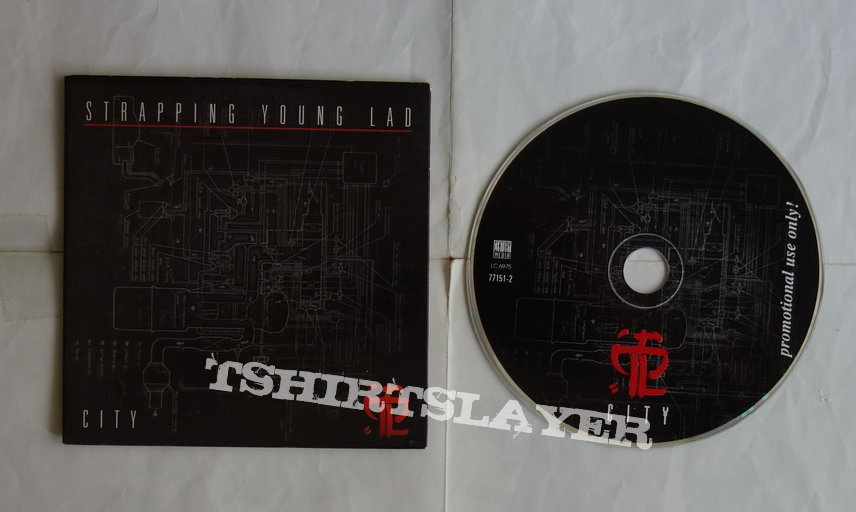 Strapping Young Lad - City - Promo CD