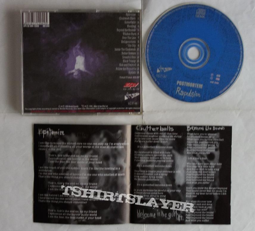 Postmortem - Repulsion - CD