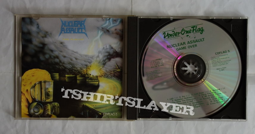Nuclear Assault - Game over/The Plague - CD