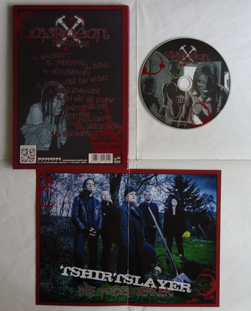 Eisregen - Todestage - lim.edit.A5 Digipack CD