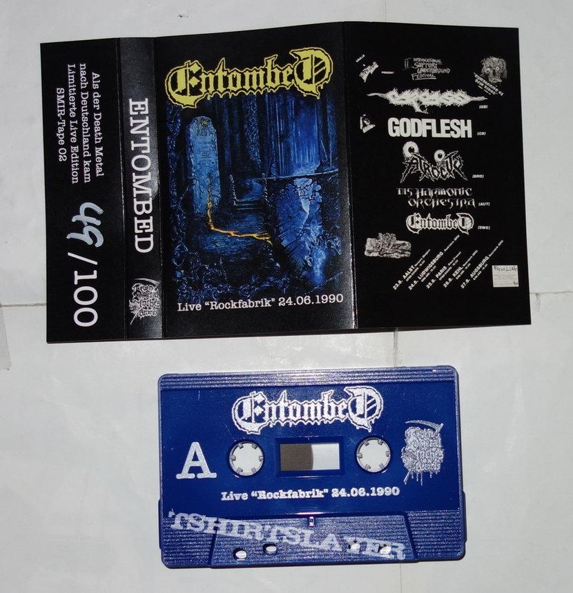 Entombed - Live 'Rockfabrik' 24.06.1990 - Tape