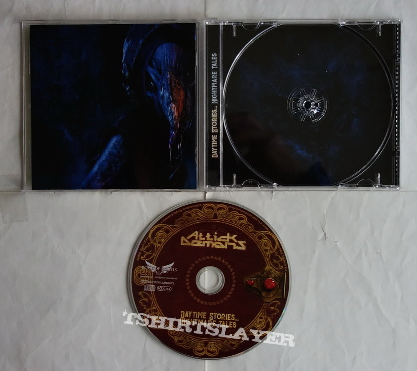 Attick Demons - Daytime stories...nightmare tales - CD