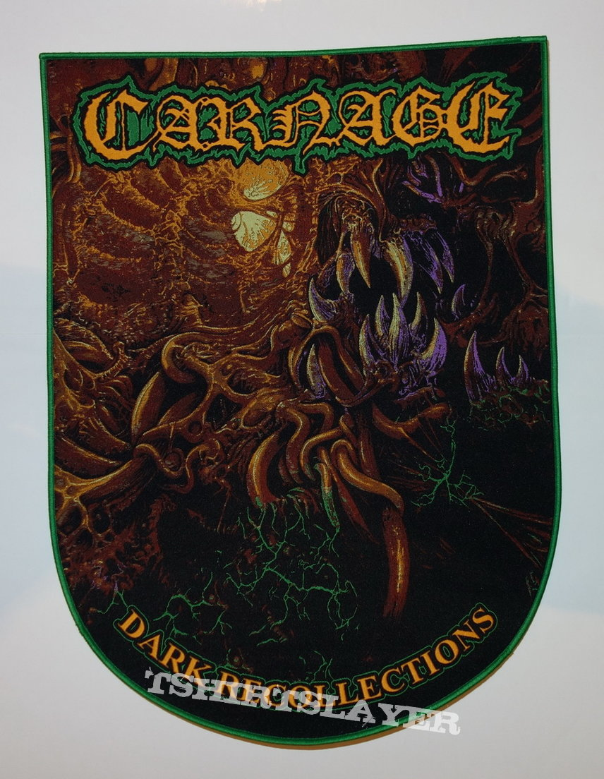 Carnage - Dark recollections - Backpatch