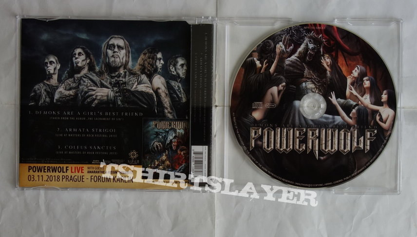 Powerwolf - Demons are a girl's best friend - Single CD