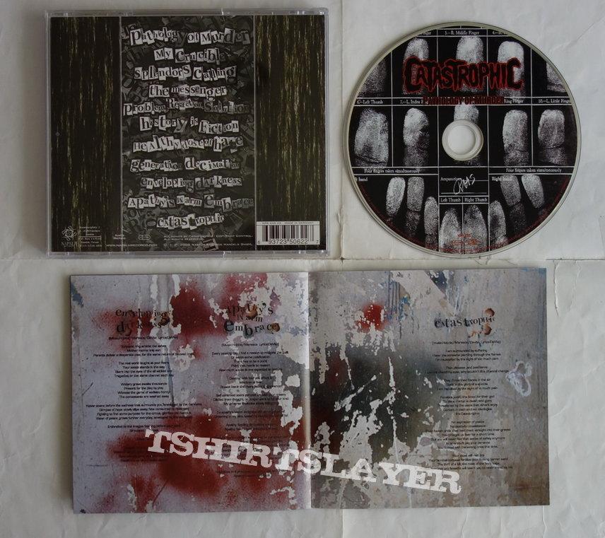 Catastrophic - Pathology of murder - CD