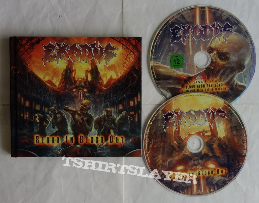 Exodus - Blood in blood out - lim.edit.Digibook CD
