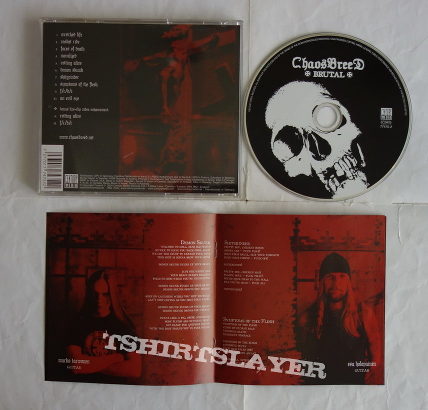 Chaosbreed - Brutal - CD