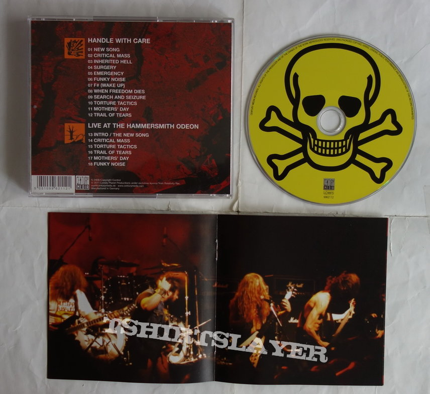 Nuclear Assault - Handle with care - Re-release CD