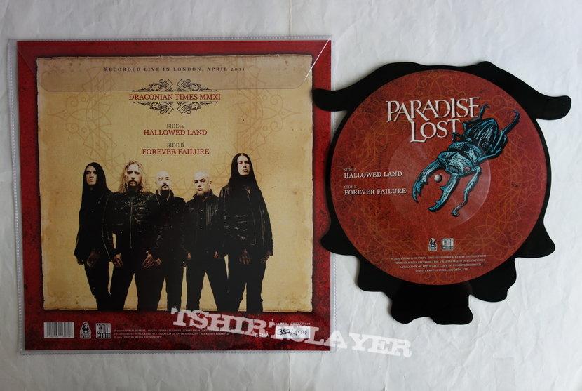 Paradise Lost - Hallowed land - Shape Vinyl