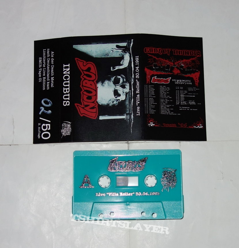 Incubus - Live 'Villa Roller' 30.04.1991 - Tape