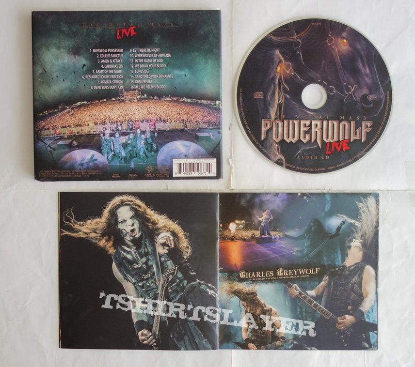 Powerwolf - The metal mass (live) - CD
