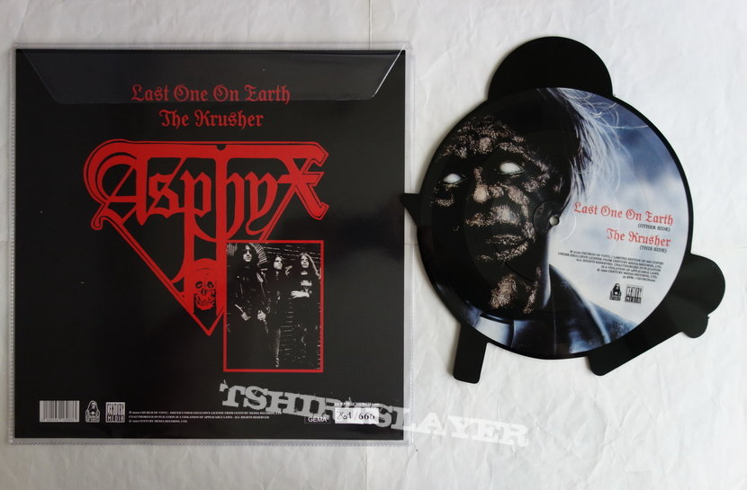 Asphyx - Last one on earth - Shape-Vinyl