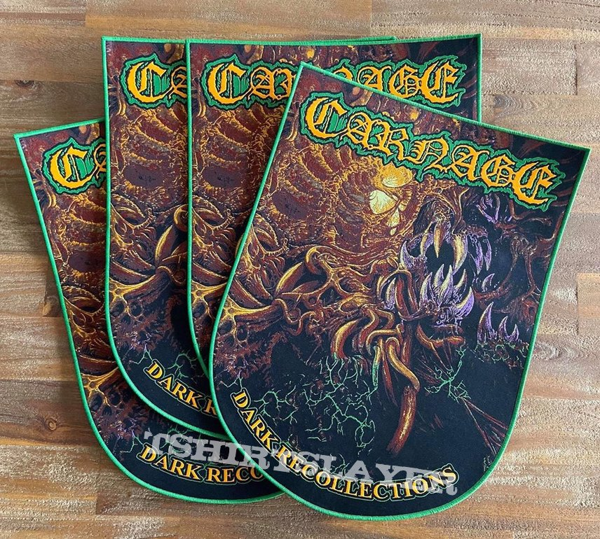 Carnage - Dark Recollections - Woven Backpatch